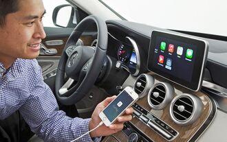Mercedes-Benz - Apple CarPlay