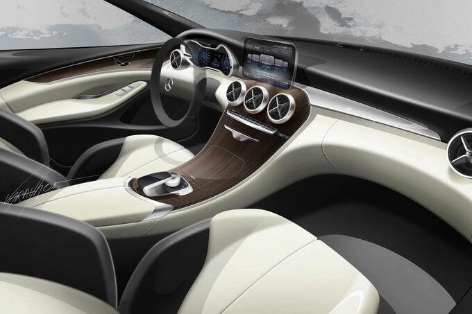 Mercedes C-Klasse 2014: Komfort auf Niveau der S-Klasse ...