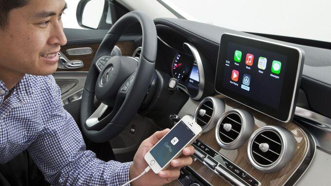 Mercedes CarPlay