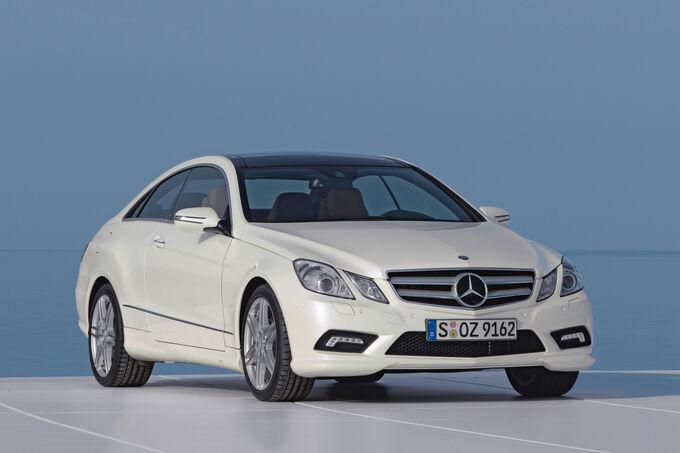 Mercedes E 200 Coupe