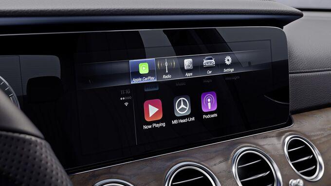 Mercedes Infotainment
