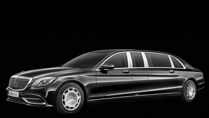 Mercedes-Maybach Pullman Facelift