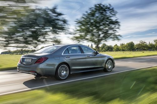 Mercedes S-Klasse 2017 Facelift