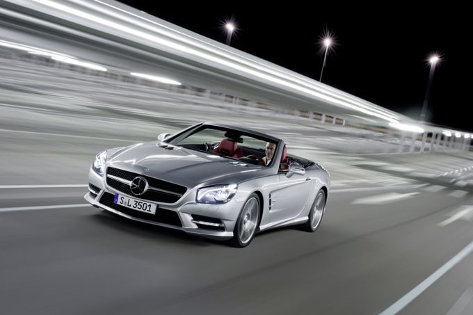 Mercedes SL 350 Blue Efficiency