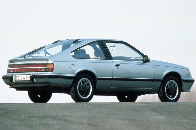 Opel Monza, Rückansicht, Rücklichter