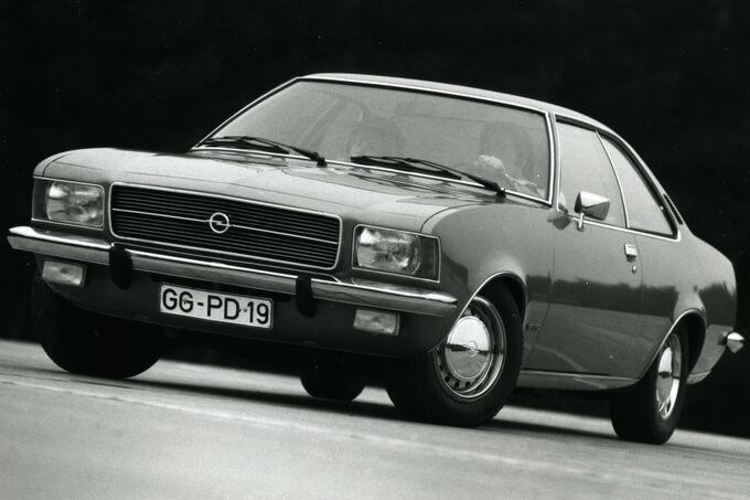 Opel Rekord D, Coupé