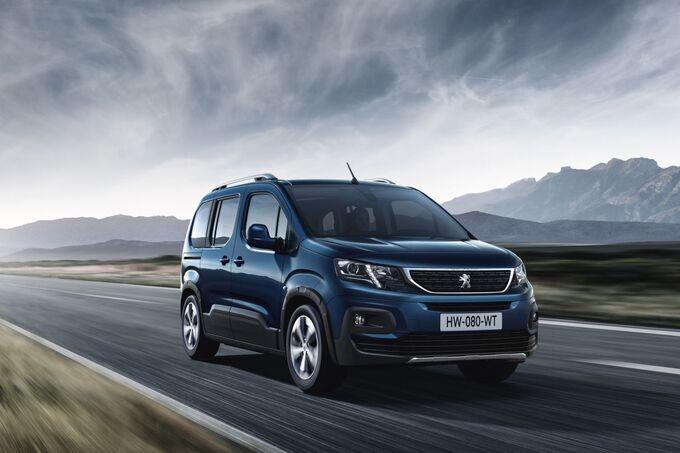 Peugeot Partner Genf 2018