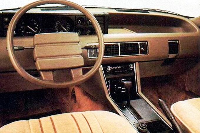 Rover 3500, Cockpit