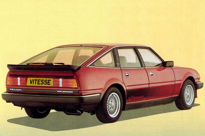 Rover 3500, Vitesse