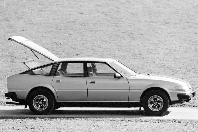 Rover 3500, offene Kofferraum