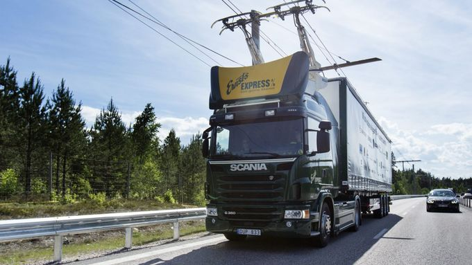 Scania Oberleitungs LKW 2018