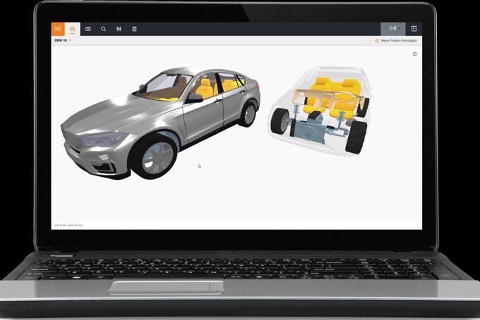 Schadenabwicklung, Monitor, Reparatur, BMW
