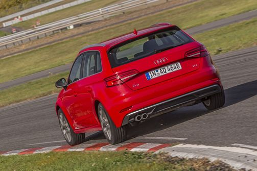 Sommerreifentest, Audi A3, 2018, Rennstrecke