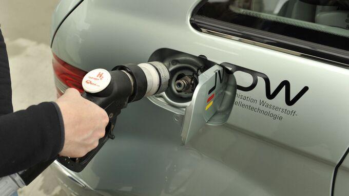 Tanken, Wasserstoff, Betankung, Tankstelle