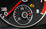 VW Caddy 1.6 Bifuel, Gas, Tankuhr