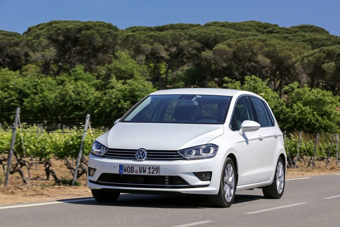VW Golf Sportsvan 1.0 TSI Bluemotion 2014