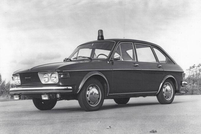 VW Typ 4, Polizei, BGS, Limousine