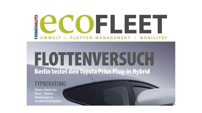 ecoFleet jetzt als Wendeheft in der aktuellen Ausgabe von FIRMENAUTO