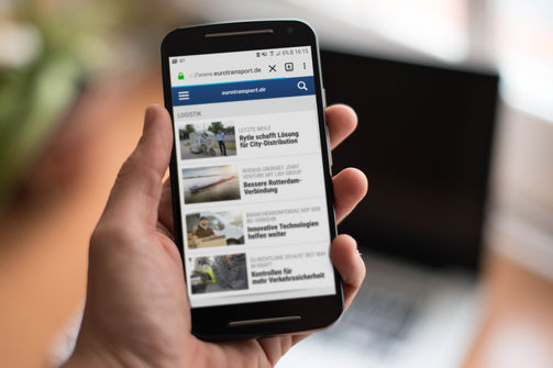 eurotransport Relaunch Smartphone