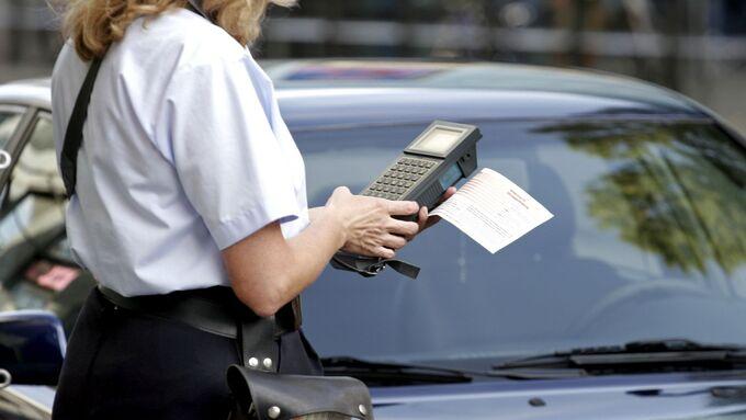 poitesse, polizei, bußgeld, strafzettel, falsch, parken